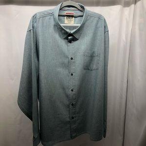 Men's 3XL Wrangler Jeans Oxford Shirt